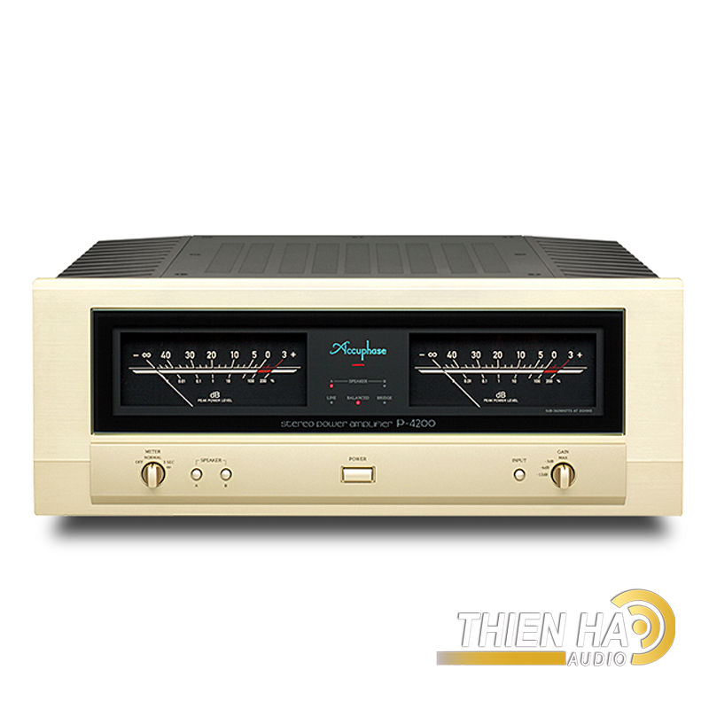 Accuphase POWER AMPLIFIERP-4200